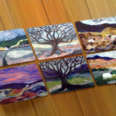 Wool Art Placemats