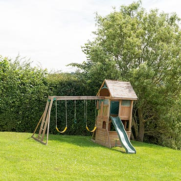 Children's play area at Primrose Cottages