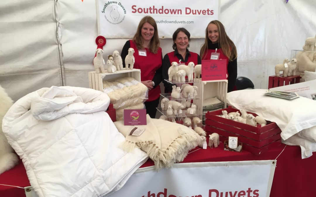 Honiton Show - Southdown Duvets Stall